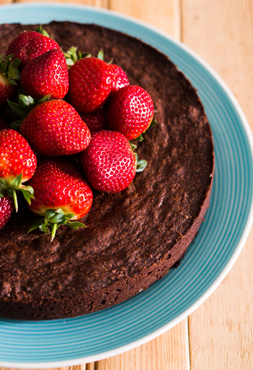 Flourless Chocolate Cake with Chipotle